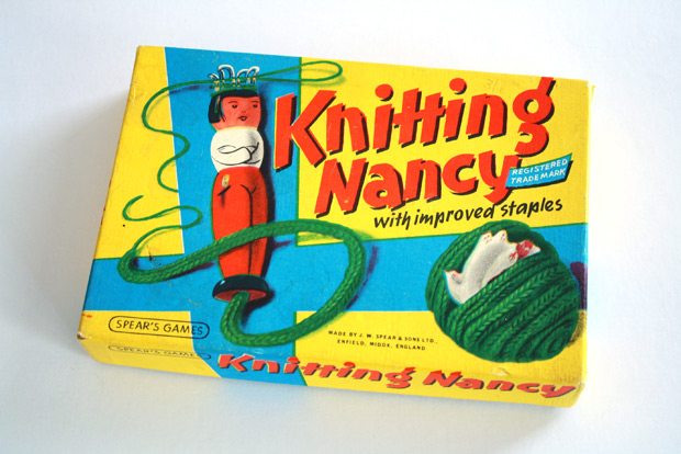 Knitting Nancy Vintage : Knitting action with nancy one plus design