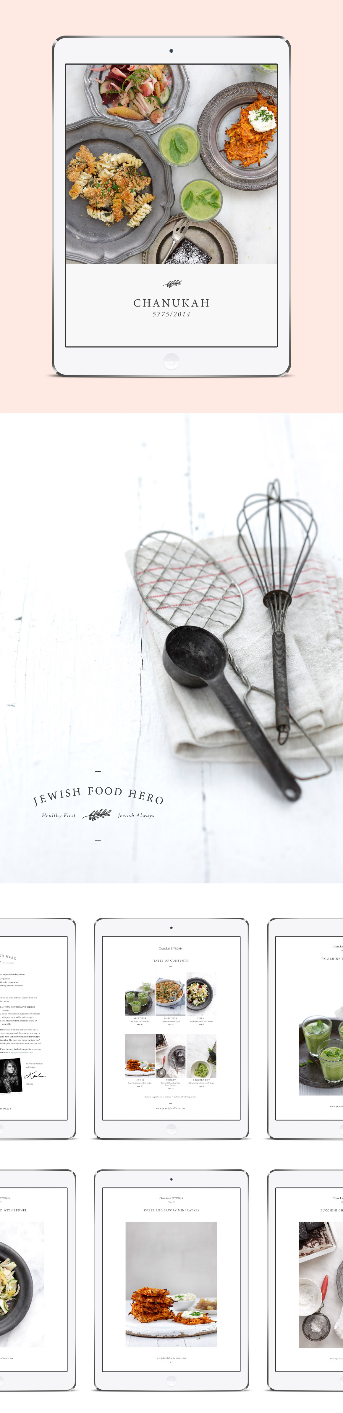 Jewish Food Hero | Design by One Plus One Design