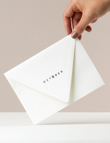October Boutique Brand Identity - One Plus One Design