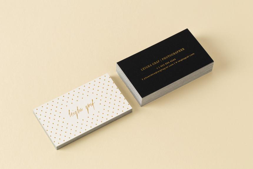 Leigha Graf Brand Identity - One Plus One DesignLeigha Graf Brand Identity - One Plus One Design