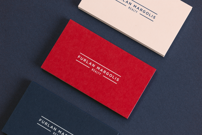 The Furlan Margolis Team Brand Identity - One Plus One Design