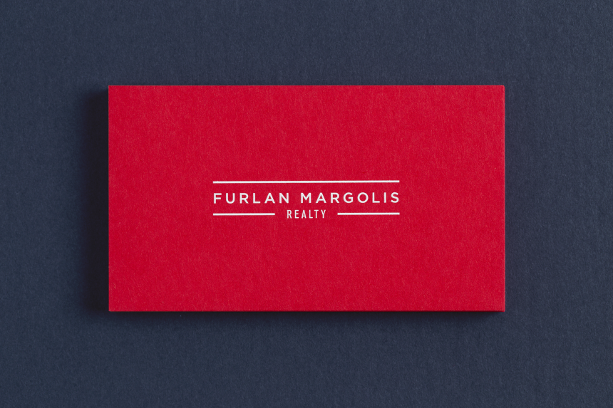 The Furlan Margolis Team Brand Identity - One Plus One Design