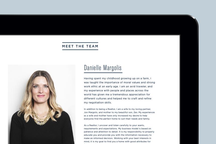The Furlan Margolis Team Website Design - One Plus One Design