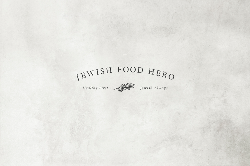 Jewish Food Hero Brand Identity - One Plus One Design