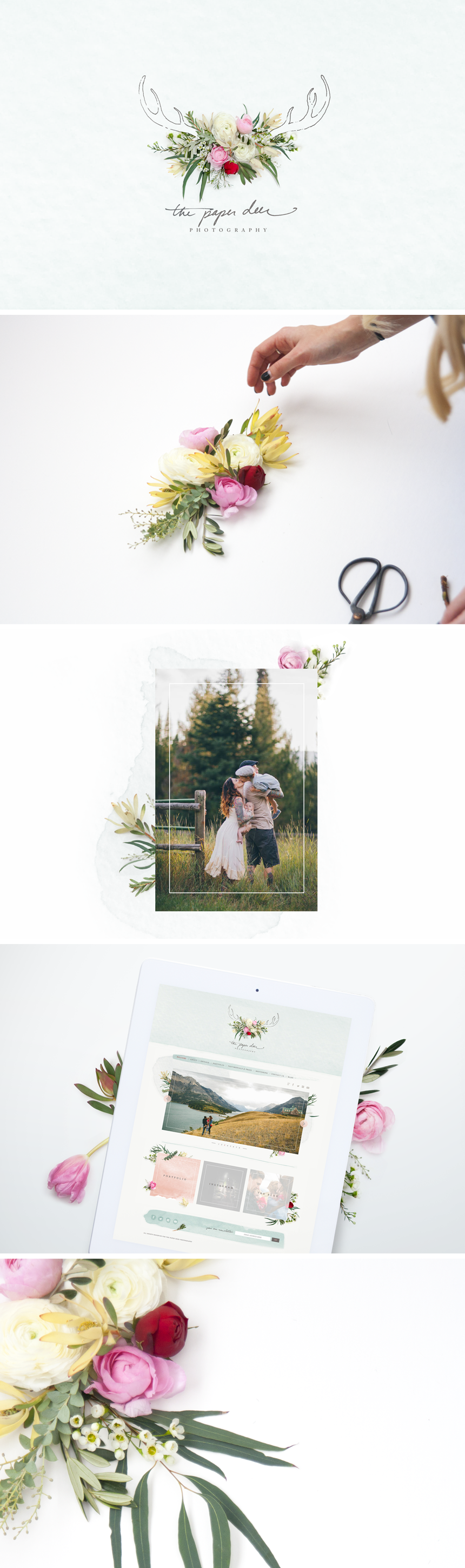 The Paper Deer Photography - One Plus One Design