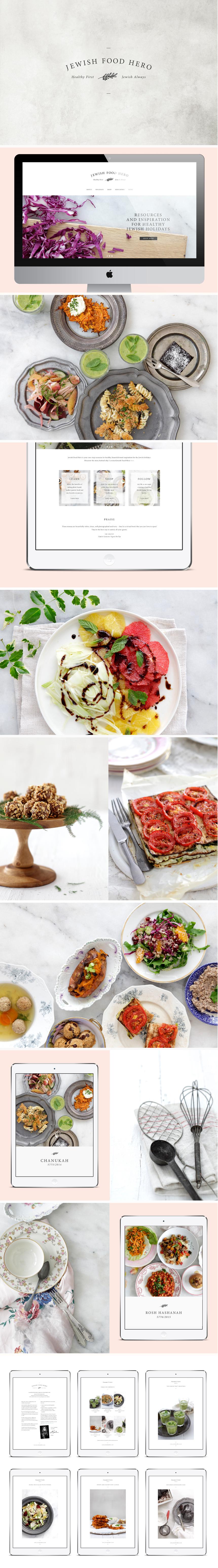 Jewish Food Hero - One Plus One Design